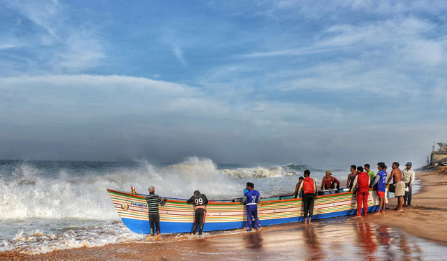 Vizhinjam Fishing Beach